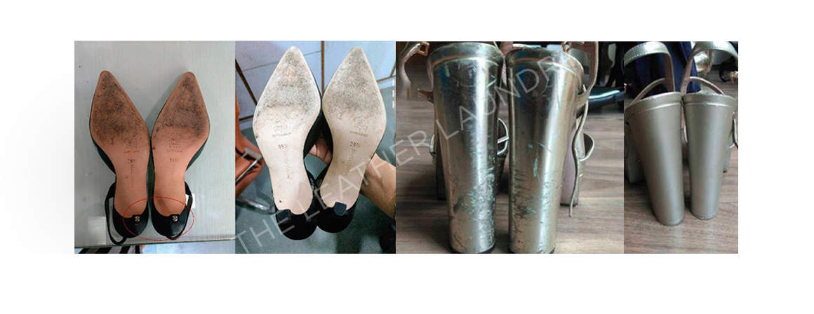 Heel repair services in Delhi, leather shoe cleaning